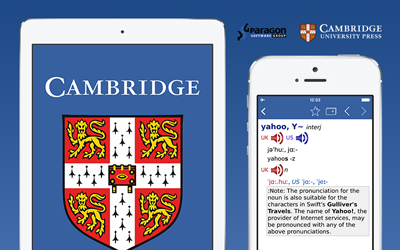 AppApp Cambridge English Pronouncing Dictionary für Android, iOS und Mac OS X